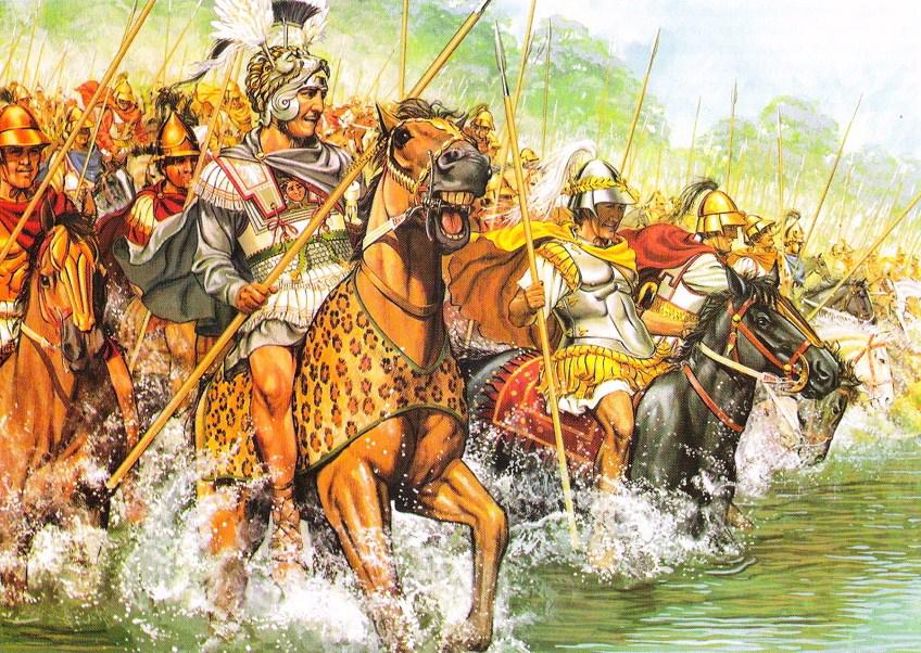 battle of gaugamela the biggest and